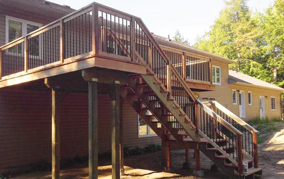 S & K Deck Build